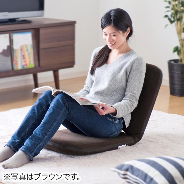 座椅子 折りたたみ 座いす 座イス コンパクト リクライニング おしゃれ(即納)|sanwadirect|19