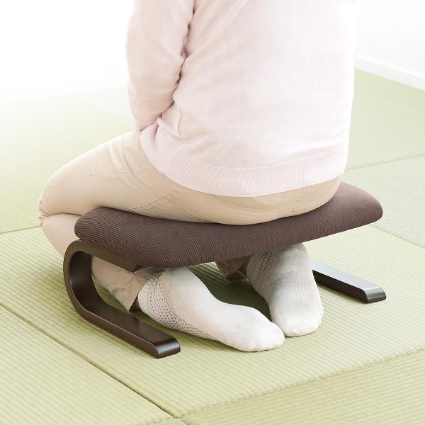 正座椅子 座椅子 しびれ 腰痛 対策(即納)|sanwadirect|15