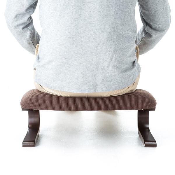 正座椅子 座椅子 しびれ 腰痛 対策(即納)|sanwadirect|10