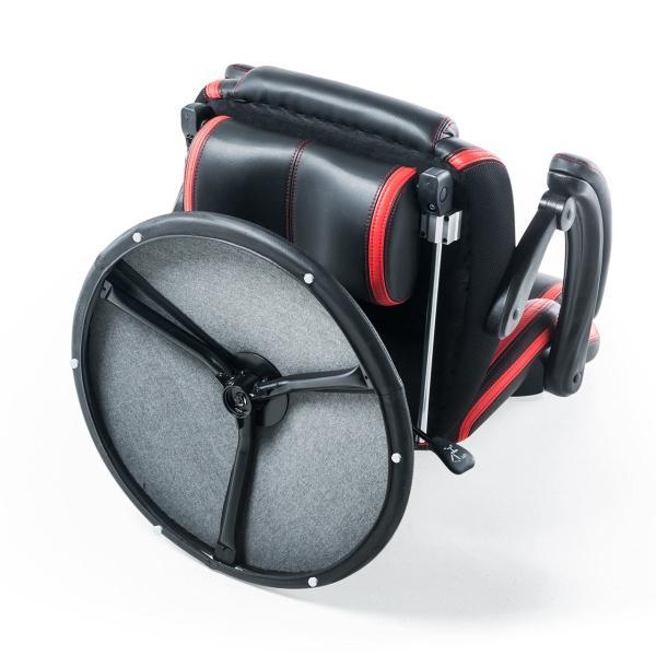 リクライニング座椅子 座いす 座イス 回転 ハイバック ゲーミング座椅子 肘掛け 肘付き ゲーミングチェア(即納)|sanwadirect|16