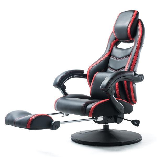 リクライニング座椅子 座いす 座イス 回転 ハイバック ゲーミング座椅子 肘掛け 肘付き ゲーミングチェア(即納)|sanwadirect|20