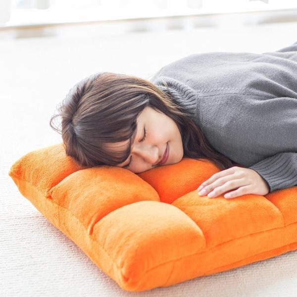 座椅子 リクライニング コンパクト おしゃれ フロアチェア リビングチェア 低反発 一人掛けソファ 座イス 座いす ざいす 日本製42段ギア|sanwadirect|14