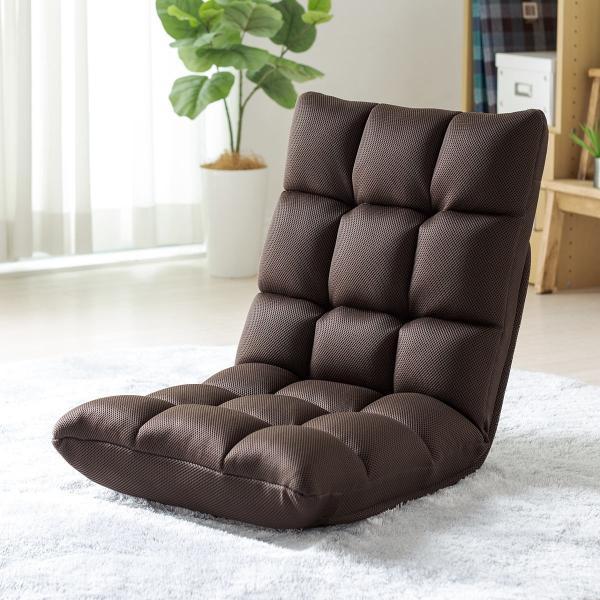座椅子 リクライニング 低反発 メッシュ  コンパクト 座いす 座イス おしゃれ フロアチェア リラックスチェアー(即納)|sanwadirect|19