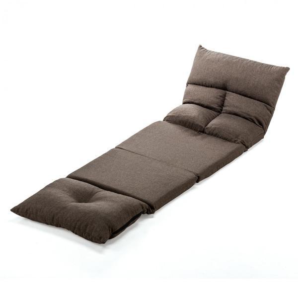 座椅子 座イス 座いす ベッド ソファーベッド 1人掛け リクライニング リラックス 寝られる フロアチェア(即納) sanwadirect 15