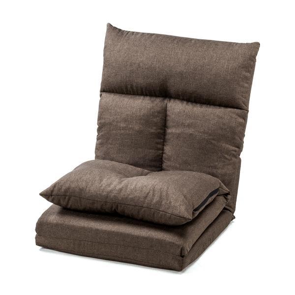 座椅子 座イス 座いす ベッド ソファーベッド 1人掛け リクライニング リラックス 寝られる フロアチェア(即納) sanwadirect 20