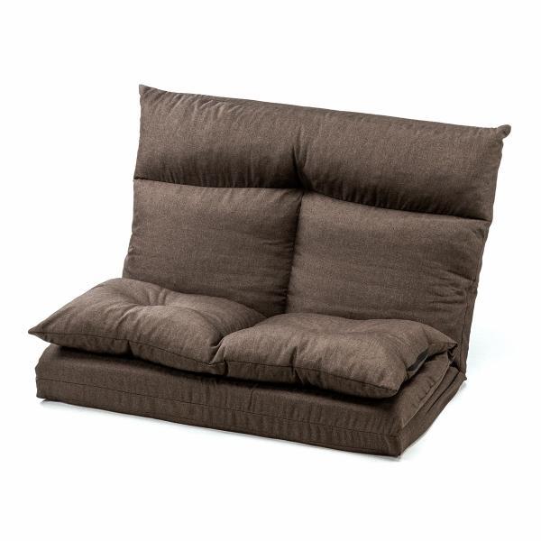 座椅子 座イス 座いす ベッド ソファーベッド 2人掛け リラックス 背もたれ5段階 リクライニング(即納)|sanwadirect|20