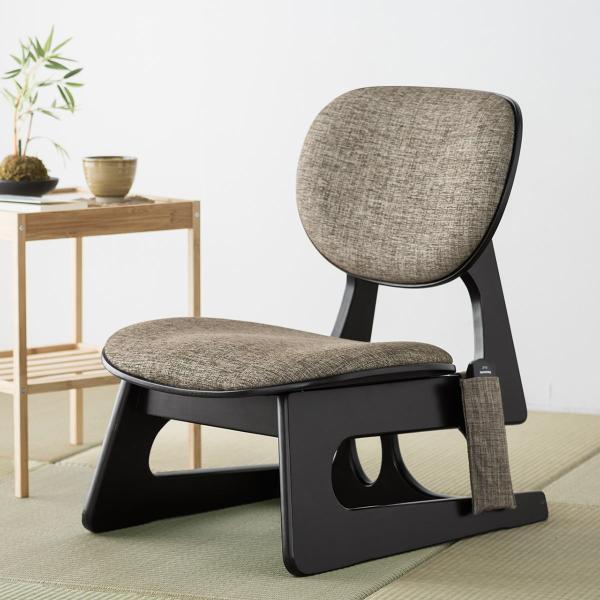 座敷椅子 高座椅子 低座椅子 木製フレーム 座いす 座イス|sanwadirect|19