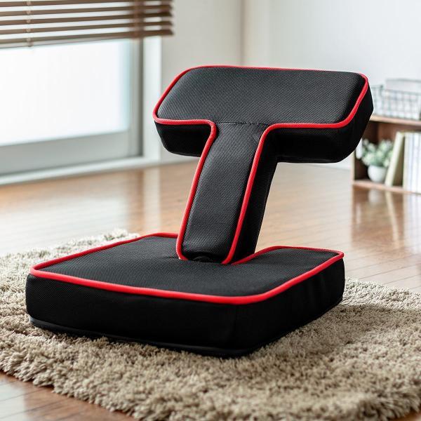 座椅子 ゲーミング座椅子 座いす 座イス メッシュ リクライニング チェア 肘置き 日本製 高耐久ギア(即納)|sanwadirect|18