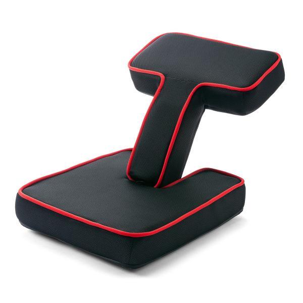 座椅子 ゲーミング座椅子 座いす 座イス メッシュ リクライニング チェア 肘置き 日本製 高耐久ギア(即納)|sanwadirect|20
