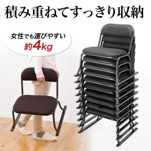 高座椅子 座敷椅子 立ち上げりが楽 膝 法事 イス 座いす sanwadirect 06