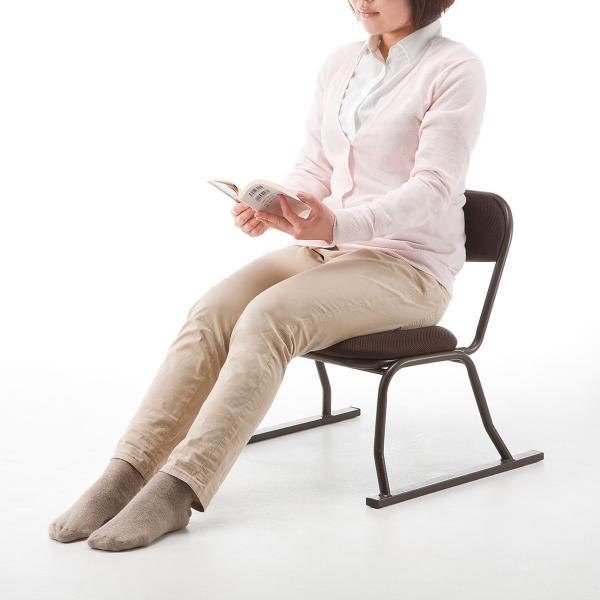 高座椅子 座敷椅子 立ち上げりが楽 膝 法事 イス 座いす sanwadirect 09