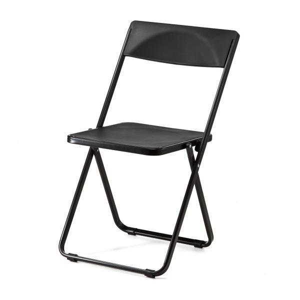 折りたたみ椅子 おしゃれ フォールディングチェア スタッキング可能 SLIM 1脚|sanwadirect|15