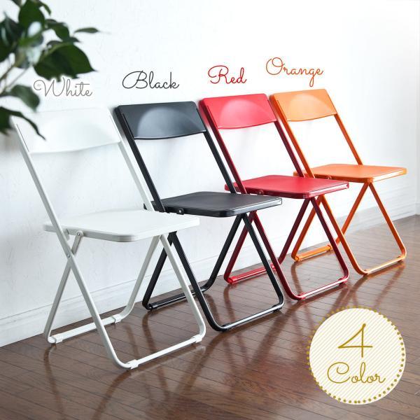 折りたたみ椅子 4脚セット チェア(即納)|sanwadirect|11