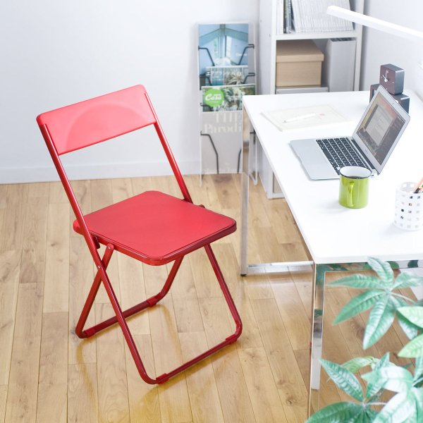折りたたみ椅子 4脚セット チェア(即納)|sanwadirect|15