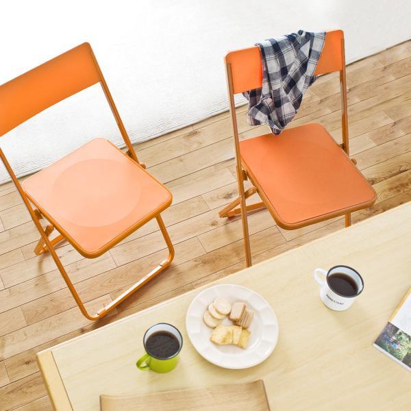 折りたたみ椅子 4脚セット チェア(即納)|sanwadirect|16