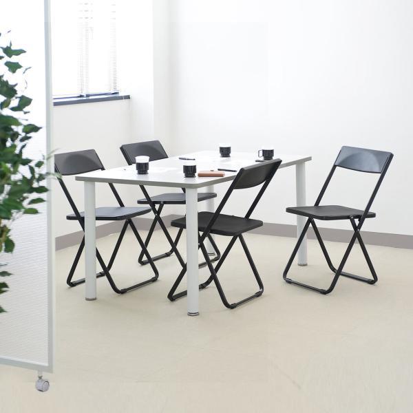 折りたたみ椅子 4脚セット チェア(即納)|sanwadirect|18