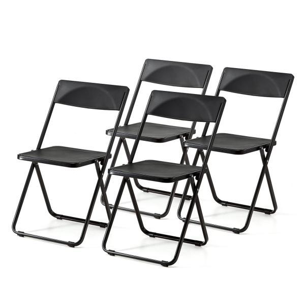 折りたたみ椅子 4脚セット チェア(即納)|sanwadirect|19