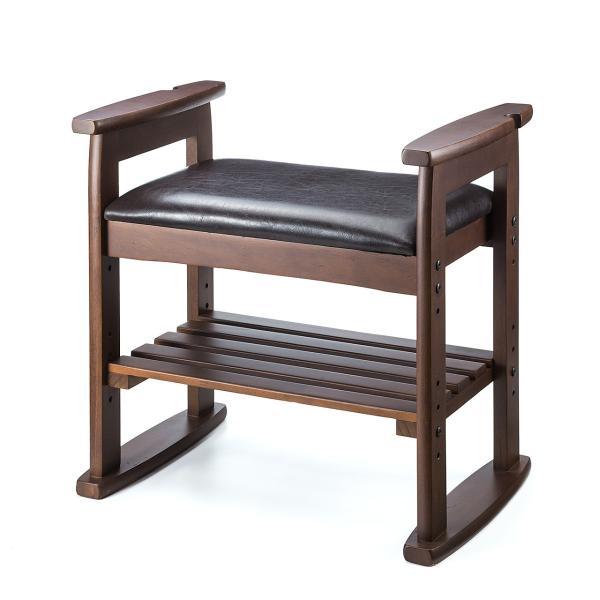 玄関椅子 スツール ベンチチェア 腰掛け チェア 収納 シューズラック シューズボックス sanwadirect 12