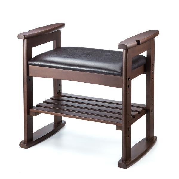 玄関椅子 スツール ベンチチェア 腰掛け チェア 収納 シューズラック シューズボックス|sanwadirect|16