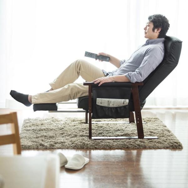 高座椅子 安楽椅子 座椅子 リクライニングチェア 座いす 座イス 肘付き 高齢者 介護 リクライニング リラックスチェアー|sanwadirect|17