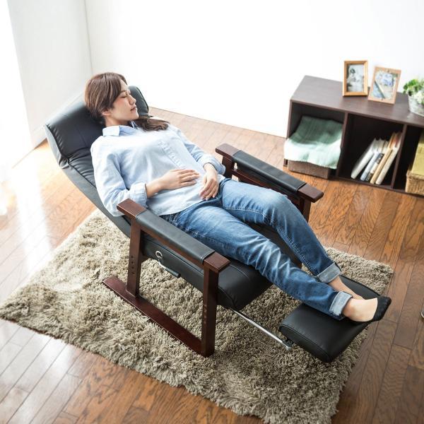 高座椅子 安楽椅子 座椅子 リクライニングチェア 座いす 座イス 肘付き 高齢者 介護 リクライニング リラックスチェアー|sanwadirect|19