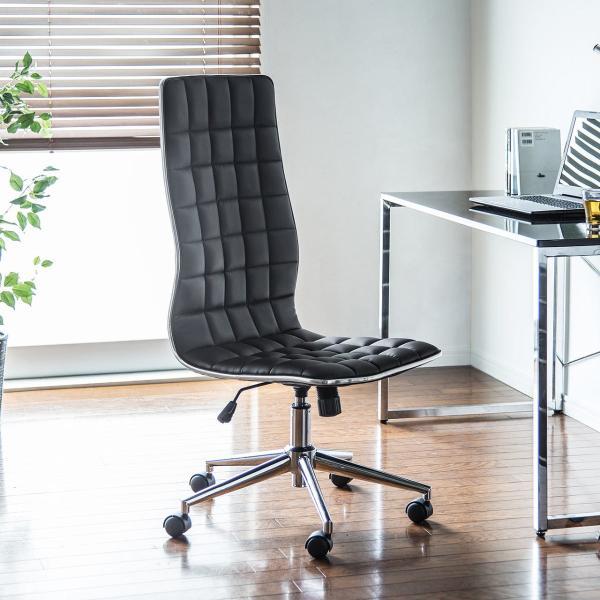 デスクチェア オフィスチェア パソコンチェア カフェチェア ダイニングチェア チェア 椅子 シンプル おしゃれ ハイバック|sanwadirect|19