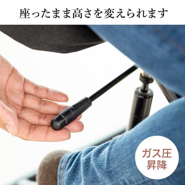 バランスチェア バランスチェアー ガス圧式 姿勢 矯正 椅子 大人 背もたれ付き(即納)|sanwadirect|07