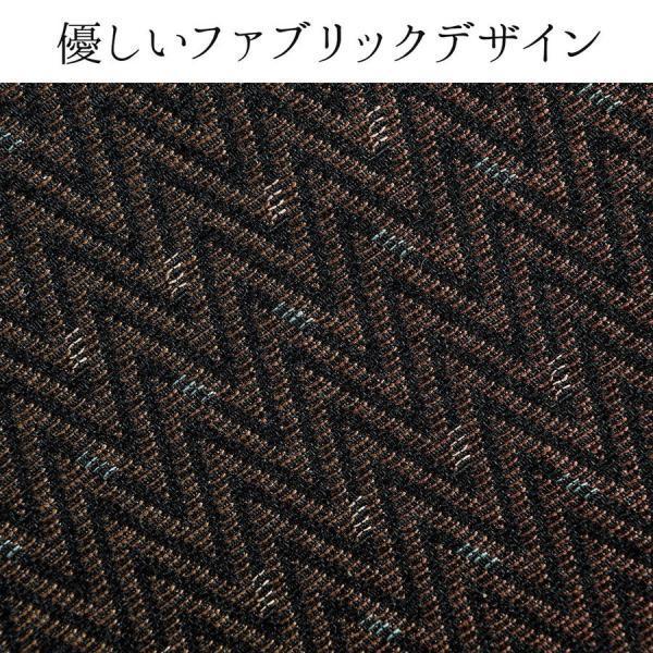 リクライニング高座椅子 安楽椅子 ハイバック仕様 オットマン内蔵 背もたれ8段階 オットマン14段階角度調整 ヘッドレスト サイドポケット付き ブラウン|sanwadirect|15