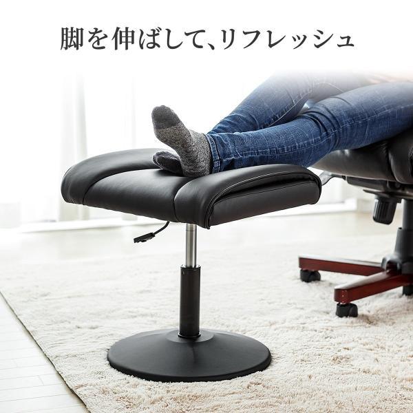 オットマン 脚置き台 スツール チェア 椅子 ソファ シンプル|sanwadirect|03