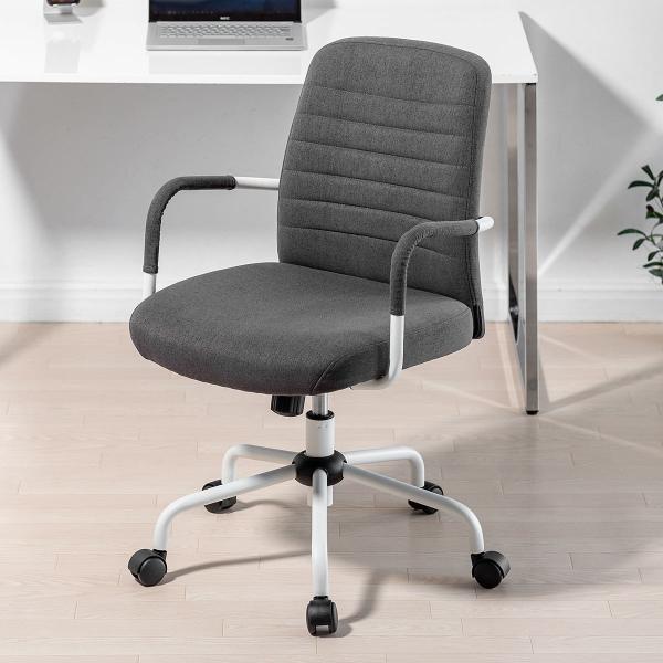 オフィスチェア パソコンチェア デザインチェア 事務椅子 肘付き オフィスチェアー デスクチェア シンプル 椅子 チェア チェアー イス いす オフィス(即納)|sanwadirect|16