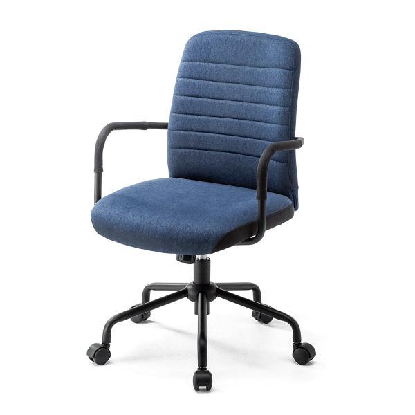 オフィスチェア パソコンチェア デザインチェア 事務椅子 肘付き オフィスチェアー デスクチェア シンプル 椅子 チェア チェアー イス いす オフィス(即納)|sanwadirect|17