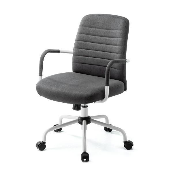 オフィスチェア パソコンチェア デザインチェア 事務椅子 肘付き オフィスチェアー デスクチェア シンプル 椅子 チェア チェアー イス いす オフィス(即納)|sanwadirect|18