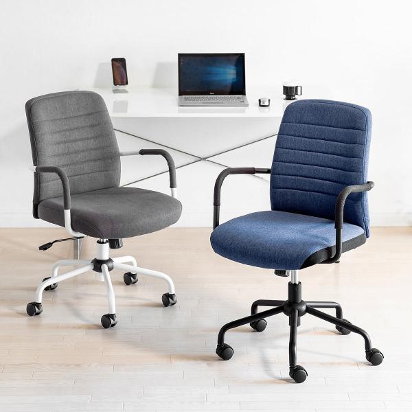 オフィスチェア パソコンチェア デザインチェア 事務椅子 肘付き オフィスチェアー デスクチェア シンプル 椅子 チェア チェアー イス いす オフィス(即納)|sanwadirect|19