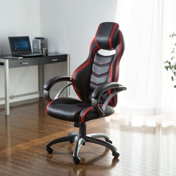 オフィスチェア ゲーミングチェア バケットシート ハイバック 肘付き デスクチェア パソコンチェア 椅子 イス いす(即納)|sanwadirect|17