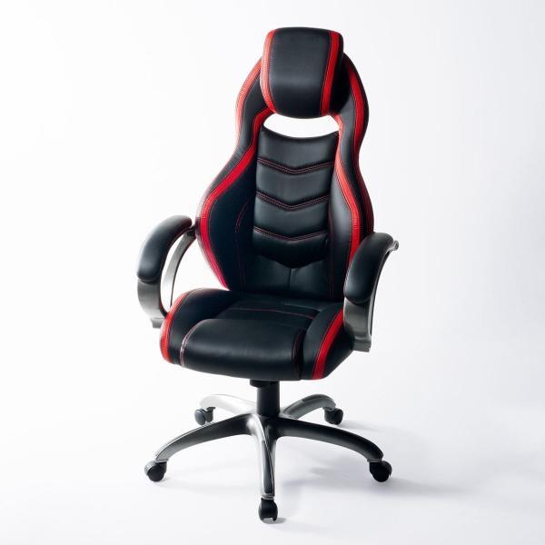 オフィスチェア ゲーミングチェア バケットシート ハイバック 肘付き デスクチェア パソコンチェア 椅子 イス いす(即納)|sanwadirect|19