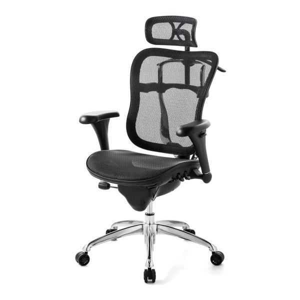 オフィスチェア メッシュチェア ハイバック メッシュ パソコンチェア 肘付き 椅子 イス|sanwadirect|20