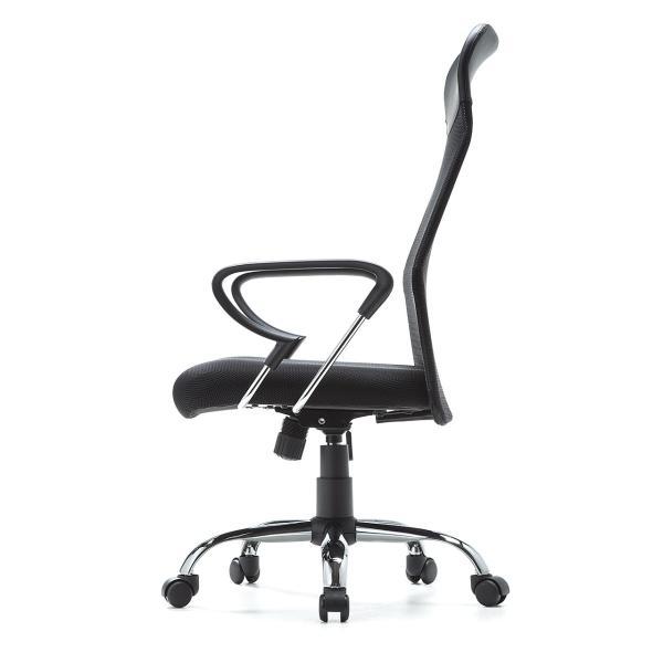 メッシュチェア ハイバック オフィスチェア パソコンチェア 肘付き 椅子 イス メッシュ|sanwadirect|12