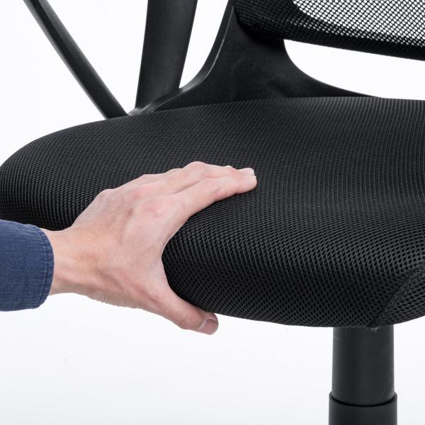 オフィスチェア メッシュ メッシュチェア 肘付き 椅子 イス オフィスチェアー sanwadirect 12