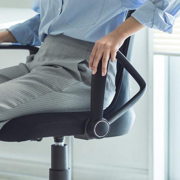 オフィスチェア メッシュ メッシュチェア 肘付き 椅子 イス オフィスチェアー sanwadirect 14