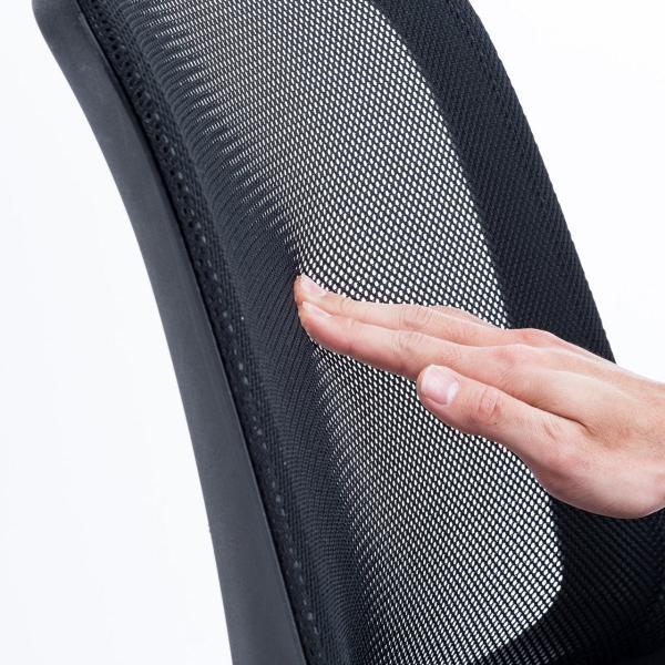 オフィスチェア メッシュ メッシュチェア 肘付き 椅子 イス オフィスチェアー sanwadirect 16
