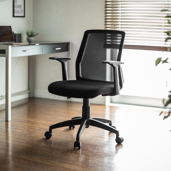 オフィスチェア メッシュ メッシュチェア 肘付き 椅子 イス オフィスチェアー(即納) sanwadirect 19