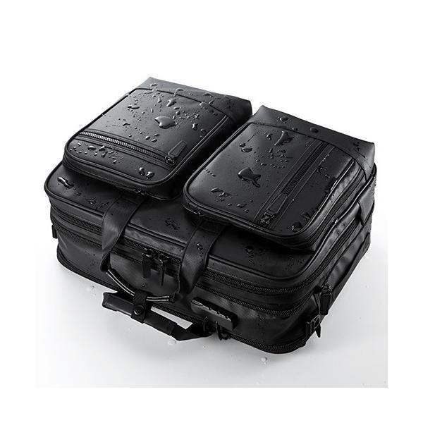 ビジネスバッグ 3WAY メンズ 大容量 防水 耐水 リュック ビジネスリュック バック(即納)|sanwadirect|11