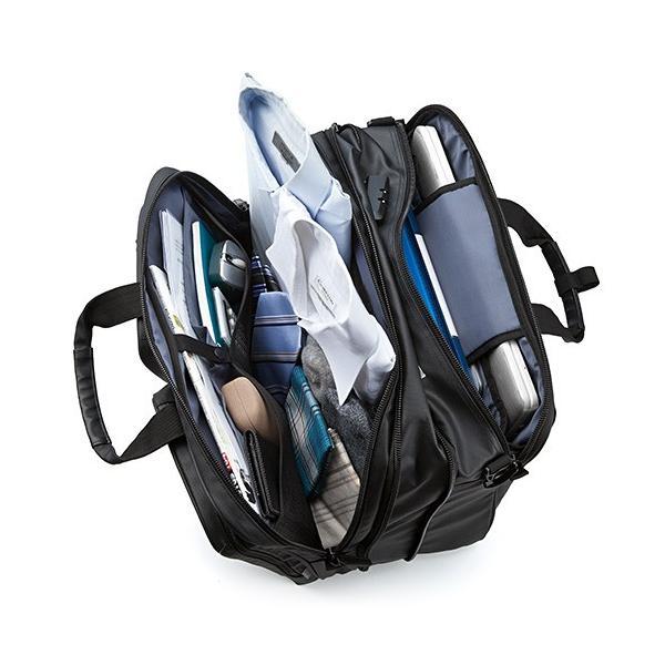 ビジネスバッグ 3WAY メンズ 大容量 防水 耐水 リュック ビジネスリュック バック(即納)|sanwadirect|08