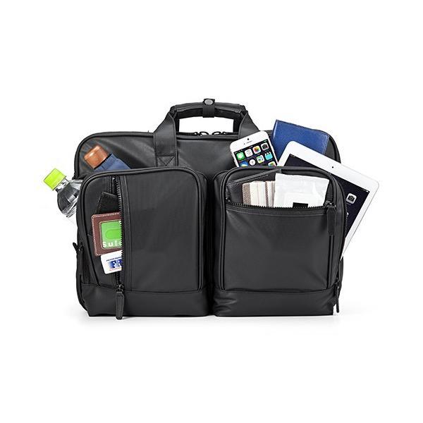 ビジネスバッグ 3WAY メンズ 大容量 防水 耐水 リュック ビジネスリュック バック(即納)|sanwadirect|10