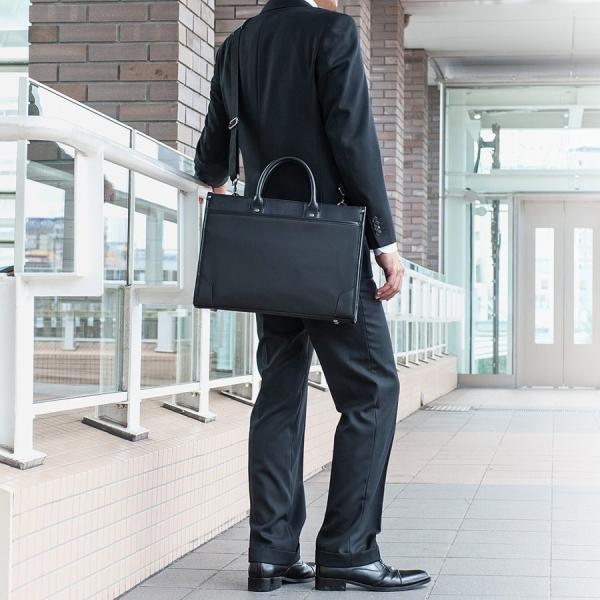 ビジネスバッグ 2WAY パソコンバッグ 防水 撥水 メンズ ブリーフケース バック パソコン PC対応(即納)|sanwadirect|12