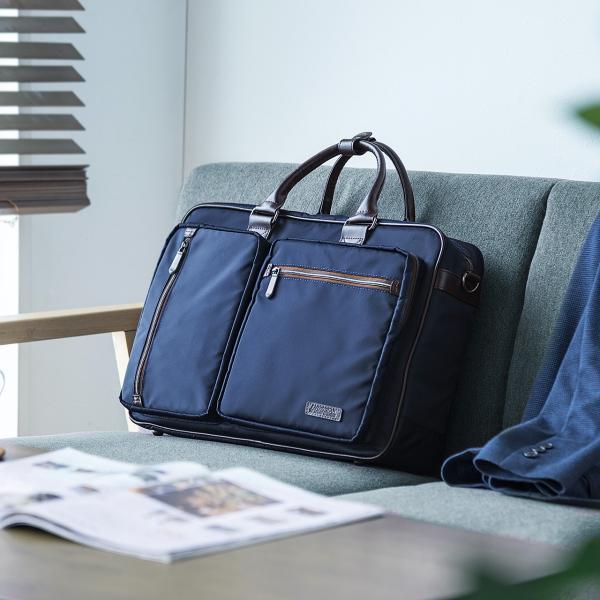 ビジネスバッグ 3WAY メンズ リュック 軽量 スリム 通勤 ビジネスバック(即納)|sanwadirect|12