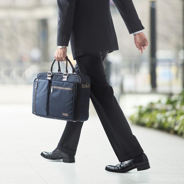 ビジネスバッグ 3WAY メンズ リュック 軽量 スリム 通勤 ビジネスバック(即納)|sanwadirect|06