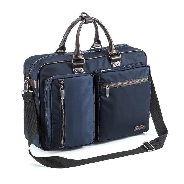 ビジネスバッグ 3WAY メンズ リュック 軽量 スリム 通勤 ビジネスバック(即納)|sanwadirect|08