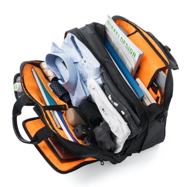 ビジネスバッグ 3way メンズ 大容量 リュック 3WAY バッグ 防水 撥水 ビジネスリュック 軽量 アルファ バック(即納)|sanwadirect|15