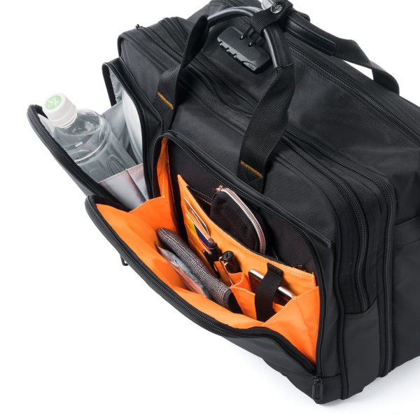 ビジネスバッグ 3way メンズ 大容量 リュック 3WAY バッグ 防水 撥水 ビジネスリュック 軽量 アルファ バック(即納)|sanwadirect|17